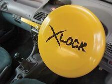 Streetwize Swuxsl2 Full Face Round Steering Wheel Lock Yellow