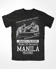 T-Shirt muhammad ali 3 ,king of the ring ,Boxing,KO,Thrilla in Manila, Greatest
