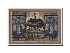 [#353387] Notgeld, Oberschlesien, Gleiwitz, 2 Mark (1922), Kono D 39272, Mehl
