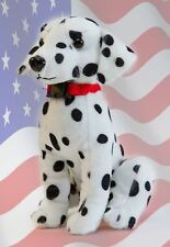 K9 Stuffed Dog Police Fire Military Canine Puppy Plush Doll Toy Animal Dalmatian