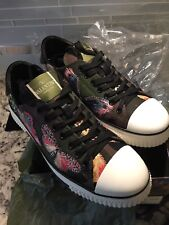 VALENTINO GARAVANI CAMUBUTTERFLY SNEAKER ARMY SHOES 38  8.5 US KW2S0019CRM B92