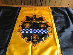 Vintage Unused Annin Nyl-Glo 3'x5' City of Pittsburgh Flag in Box