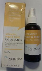 Cosmedica Skincare Vitamin C Super Serum Facial Toner 4oz Tone Brighten
