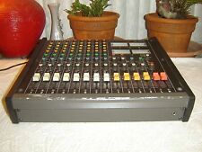 Tascam M-208, Tabletop, 8 Ch Analog Mixer, Vintage, Quality Preamps & Eq, As Is