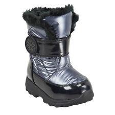 OshKosh Toddler Girls BLACK Metallic Faux Fur Winter Boots DANA 6,7,8,9,10 NWB