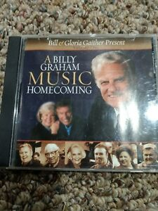 A Billy Graham Music Homecoming, Vol. 1 by Bill & Gloria Gaither (Gospel)