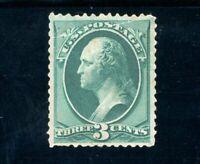 USAstamps Unused VF US 1879 Washington American Bank Printing Sctt 184 MNH Fault