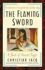 The Flaming Sword: A Novel of Ancient Egypt (Queen of Freedom) Jacq, Christian