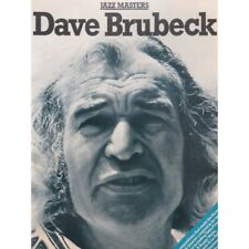 BRUBECK Dave Jazz Masters Piano 1978 partition sheet music score