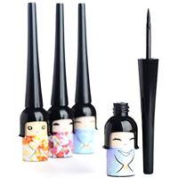 Cute Japanese Doll Waterproof Black Liquid Eyeliner Pen Makeup Cosmetic Fashion~