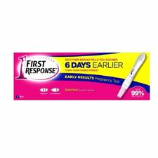 FIRST RESPONSE PREGNANCY TEST 1 TEST BRAND NEW & SEALED