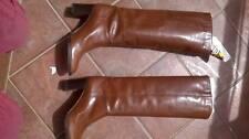 Stivali vintage originali anni '70, colore marrone, numero 39 e mezzo