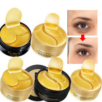 60 PCS Collagen Moisturizing Gel Eye Mask Remove Dark Circles Anti Age Wrinkle