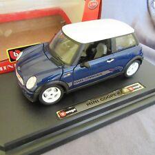 670E Burago 16079 Mini Cooper Bleu 1:24
