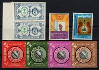 133068/ SAUDI ARABIA – 1964 / 1972 MINT MNH MODERN LOT