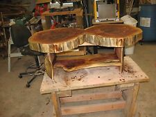 Cedar Disk Coffee Table $475