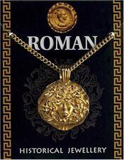 Roman Gold Plated Medusa Pendant On A Chain