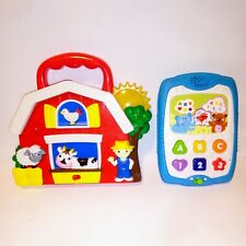 Toddlers Interactive Learning Toys With Music And Sounds Barnyard & ABC'S
