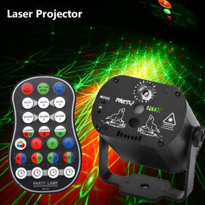 LED Laser Projector RGB Stage Lighting 60 Pattern Party KTV DJ Disco Lights Club