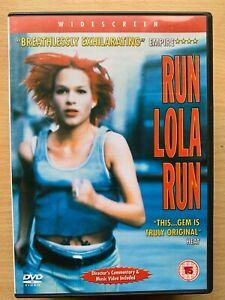 Run Lola Run DVD 1998 Tom Tykwer German Cult Film Movie with Franka Potente