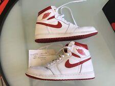 Nike Air Jordan 1 Retro High OG Metallic Red size 10.5 100% authentic