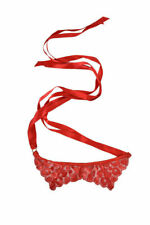 L'Agent By Agent Provocateur Women's Idalsa Lace Eye Mask Lacy Red Size Os