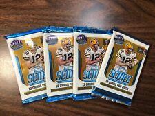 2018/2019 Panini NFL Football Score 4 Pack Combo Cards Packs Mahomes