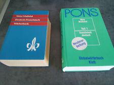 2 Wörterbücher/ Lexikon Deutsch-Französisch+ Französisch Deutsch