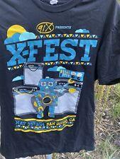 91 X RADIO STATION T SHIRT X FEST 2014 MUSIC FESTIVAL SAN DIEGO FOSTERTHEPPL Etc