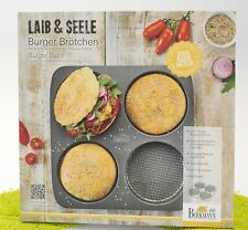 RBV Birkmann Laib & Seele 4er Set Burger-Brötchen