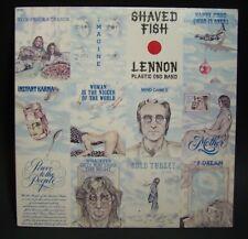Shaved Fish Lennon Plastic Ono Band   Apple Records 1972    LP Vinyl