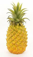 "Artificial 10.25"" Pineapple Decor Fake Fruit Realistic Life Size Pineapple"