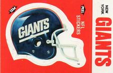 NEW YORK GIANTS FOOTBALL CARD LOT(150) PLAYERS AND STARS FROM THE DECADES NFL
