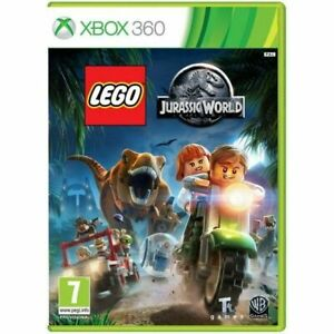 JURASSIC WORLD LEGO XBOX 360 BRAND NEW SEALED