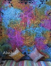 Queen Fatima Hand Hamsa Tapestry Indian Handmade Mandala Wall Hangings Decor Art