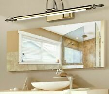 Bathrooms LED Wall Lamps Black Bronze/Silver Mirror Home Daily Lighting Fixtures