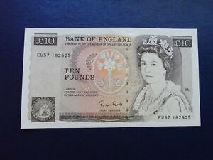 Bank of England £10 banknote Gill 1988-91 EU57
