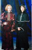 McCalls M4621 Boys Girls Costume Goth Coat Capelet Dress Cosplay Pattern Sz 7-16