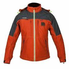 Spada Seeker Men's Motorcycle Jacket Orange Waterproof Ex Display Small