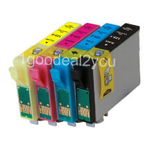 4 PACK T125 ink for Epson Stylus NX420 NX625 NX125 NX127 WorkForce 320 323 325