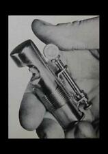 Windproof Lighter 1951 How-To build PLANS WWI Trench lookalike