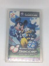 Disney Soccer For Gamecube Japanese *USA SELLER* Disc, Case & Booklet