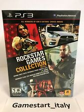 ROCKSTAR GAMES COLLECTION - GTA - L.A.NOIRE - RED DEAD - MIDNIGHT PS3 NUOVO NEW