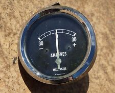 Motometer Amps Amperes Gauge Classic GT Opel VW Ford BMW 1960s