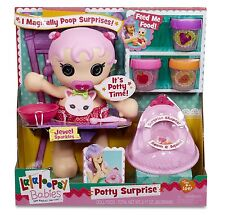 Lalaloopsy Potty Surprise Baby Doll Ages 4+ New Toy Girls Fun Happy Gift