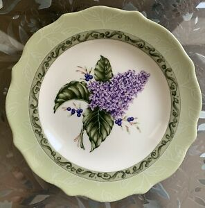 "Princess House Vintage Garden Lilac Salad/Luncheon Plate 9"""
