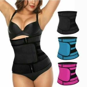 Gym Slimming Adjustable Sauna Sweat Belt Body Shaper Ladies Waist Trainer Vest