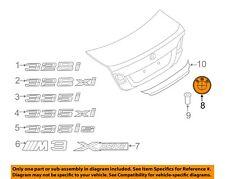 BMW OEM 07-13 328i Trunk Lid-Emblem Badge Nameplate 51147146051