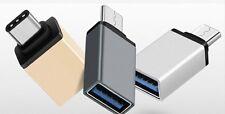 Tipo C Macho a Hembra Tipo A Usb 3.0 Adaptador para Apple Macbook (gris, SIL, Oro)