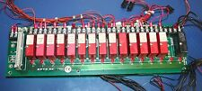 Potter & Brumfield 14 of ODC-5 & 1 of OAC-5 on OPTO22 PB16H Mounting Board